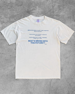 "Single Stitched ""Teenagers - Parents"" Tee - 1990s"