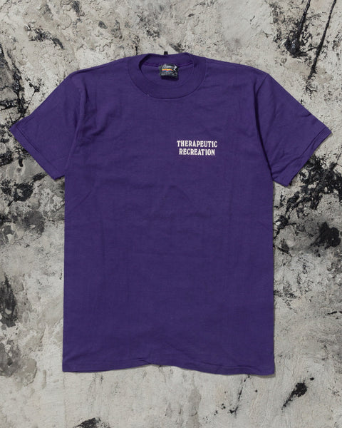 "Single Stitched ""Therapeutic Recreation"" Tee - 1990s"