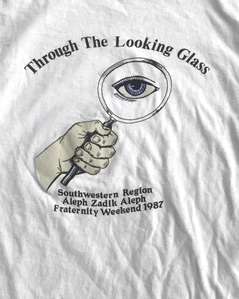 "Single Stitched ""Through The Looking Glass"" Fraternity Long Sleeve Tee - 1987"