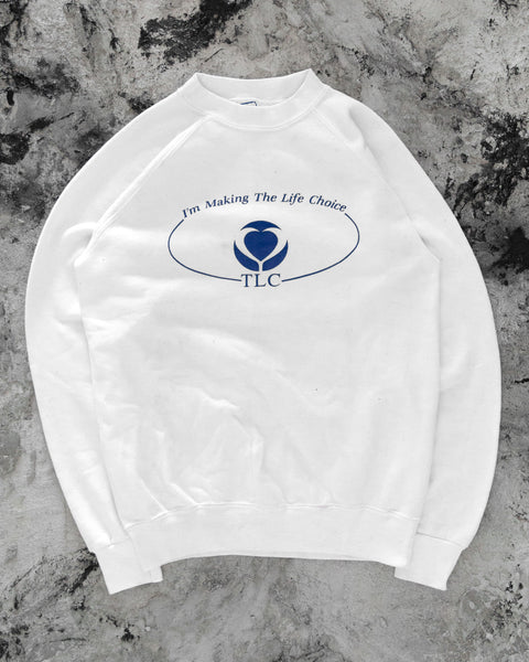 """The Life Choice"" Raglan Sweatshirt - 1990s"