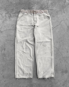 Carhartt Two Tone Faded Carpenter Pants - 1990s