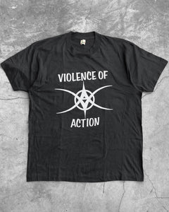 "Single Stitched Screen Stars ""Violence of Action"" Tee - 1980s"