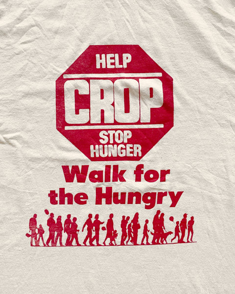 "Fruit of the Loom ""Walk for the Hungry"" Tee - 1990s"