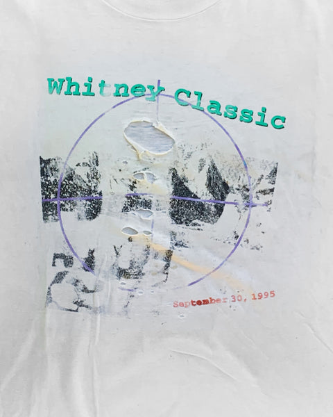 "Single Stitched Thrashed ""Whitney Classic"" Tee - 1990s"