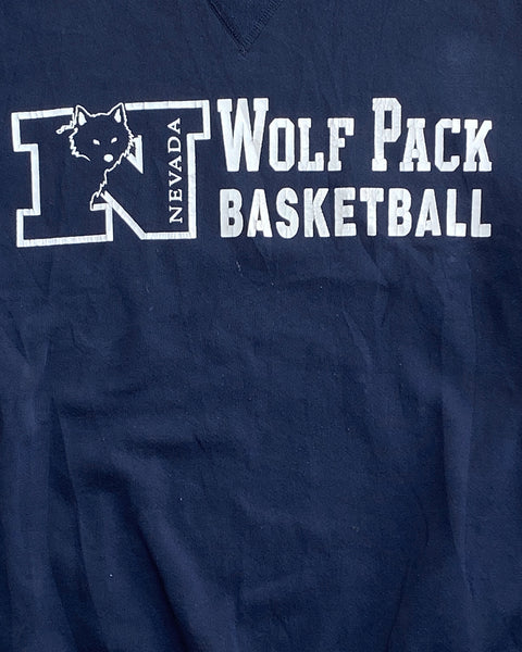 "Russell ""Wolf Pack Basketball"" Sweatshirt - 1990s"