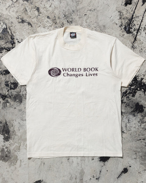 "Screen Stars ""World Book Changes Lives"" Tee - 1990s"