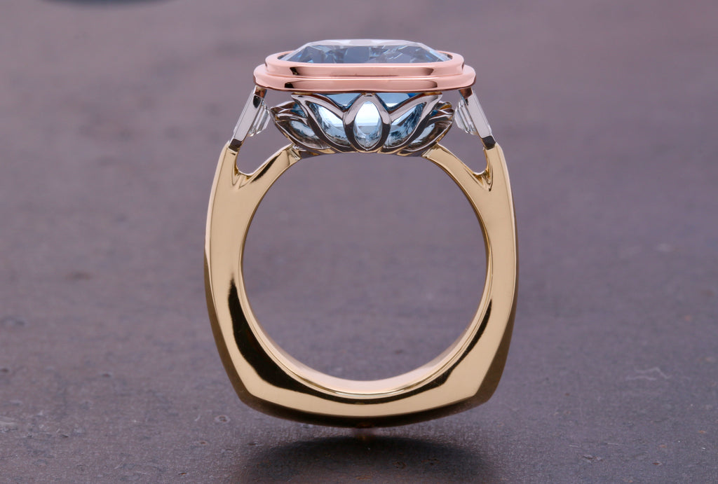 Lotus Skye Ring