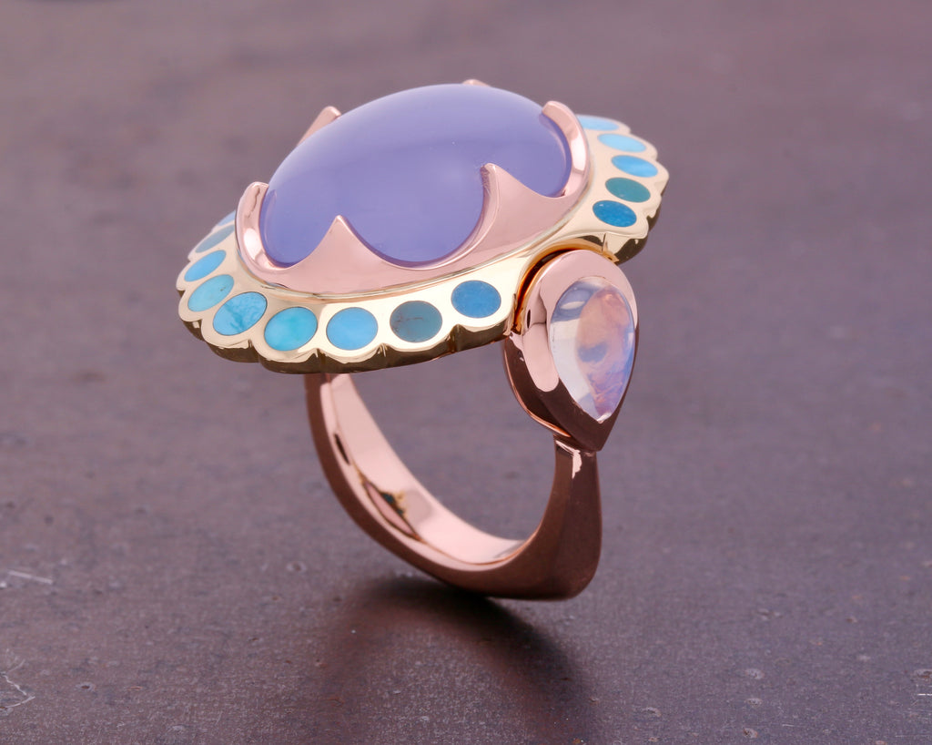 Aqualilia Ring