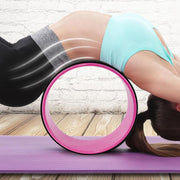 Yoga Fitness Wheel Back Training - yogabodyshape