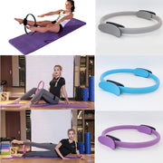 Resistance Pilates Rings Yoga Magic Circle - yogabodyshape