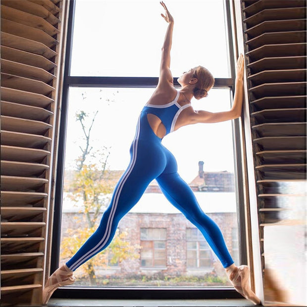 Workout Jumpsuit - Yoga Body Shapes