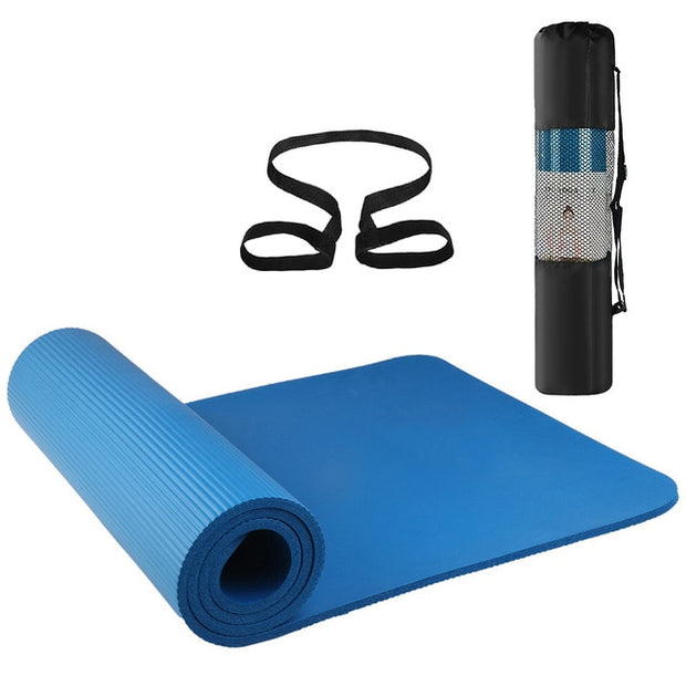 Non-slip Yoga Mats For Fitness - yogabodyshape