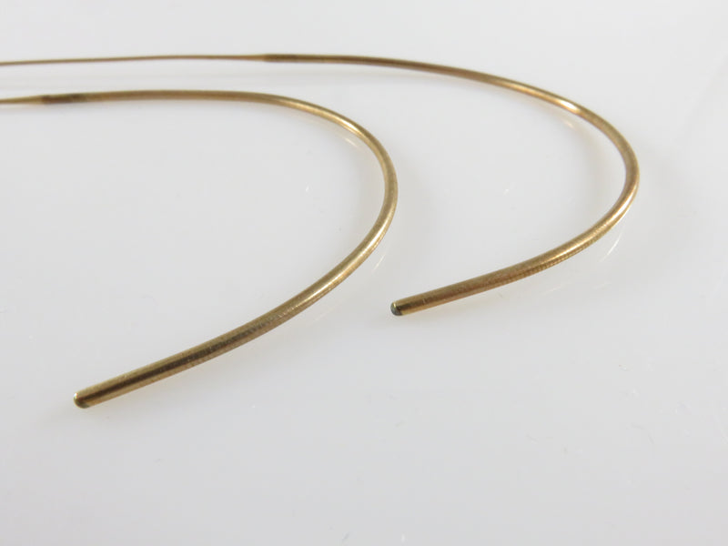 10K Gold Antique Vintage Eyeglass Replacement Wire Cable Temples Arms Matched Set