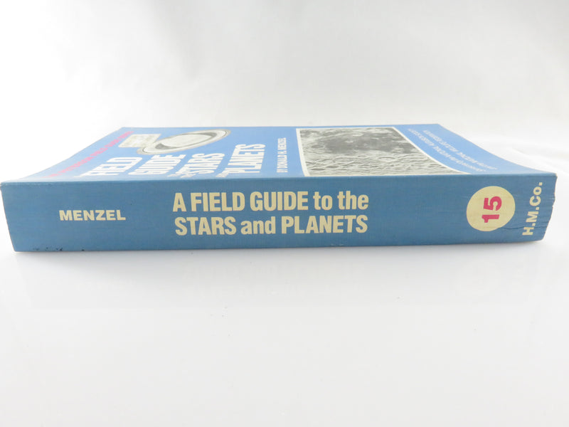 1979 A Field Guide to the Stars and Planets Donald H Menzel Soft Cover