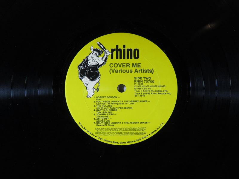 Cover Me Folk Rock Collection Rhino RNIN 70700 Bruce Springsteen Songs - Just Stuff I Sell