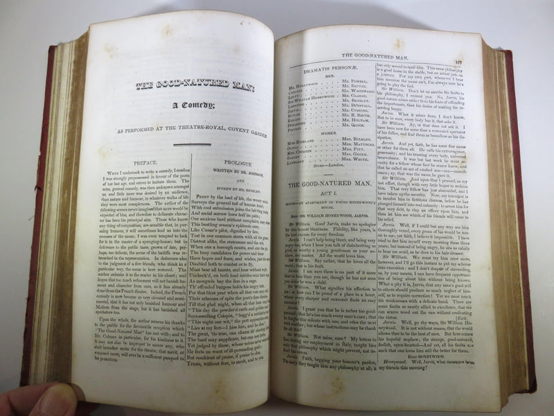 1849 The Miscellaneous Works of Oliver Goldsmith Complete in One Volume - Just Stuff I Sell