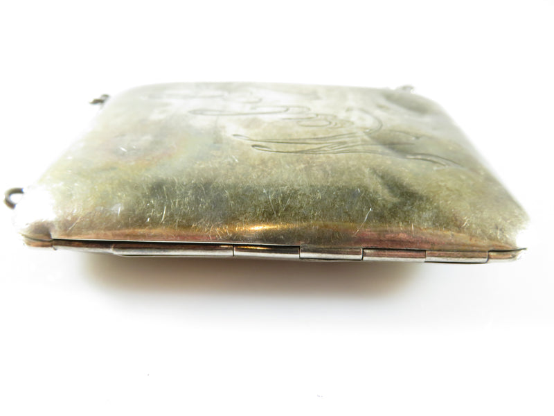 Antique 1916 Sterling Dance  Purse Coin Purse 92 grams for Restoration, Parts or Scrap
