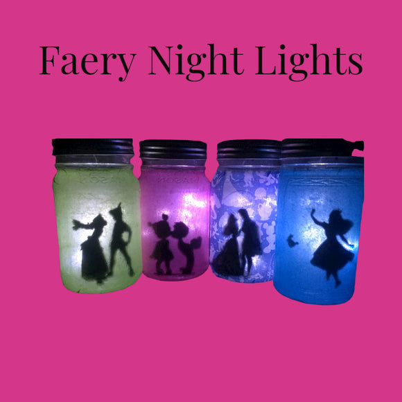 Fairy Tale Lanterns (aka adorable night lights)