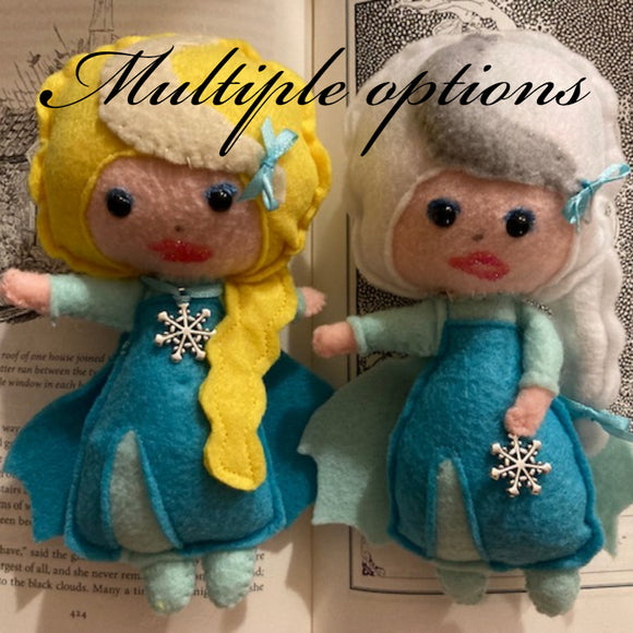Snow Queen Poppet for Releasing/Let Go (negativity)