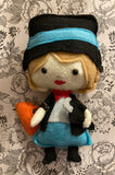 Mary Poppins Poppet for Inner Child Healing