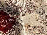 Marauder's Map inspired Tarot Bag