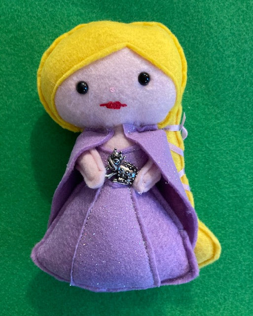 Rapunzel Fairy Tale Inspired Poppet for Happiness, Depression, Well Being, Freedom
