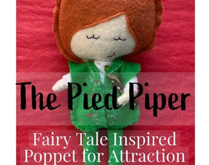 "Beauty ""Find Your Beast"" Fairy Tale Poppet"