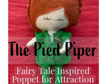 Pied Piper Fairy Tale Inspired Poppet for Attraction