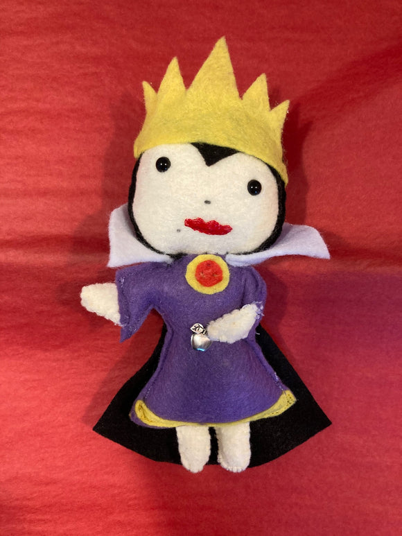 Evil Queen Poppet for Patience and Aid with Anger