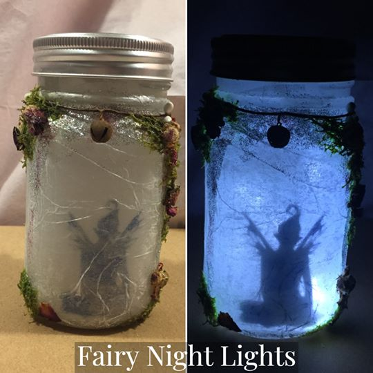 Fairy with moss Night Light