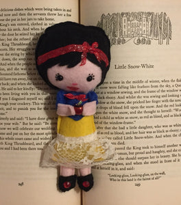 Snow Fairy Tale Inspired Poppet for Abuse and/or Bullying