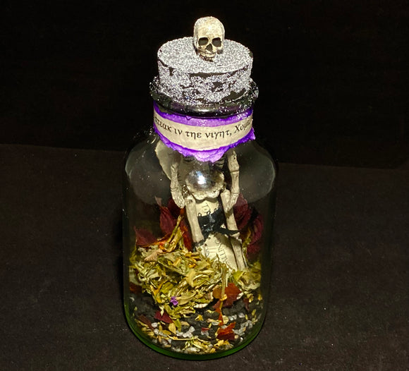 Talk to the Dead Spell Bottle