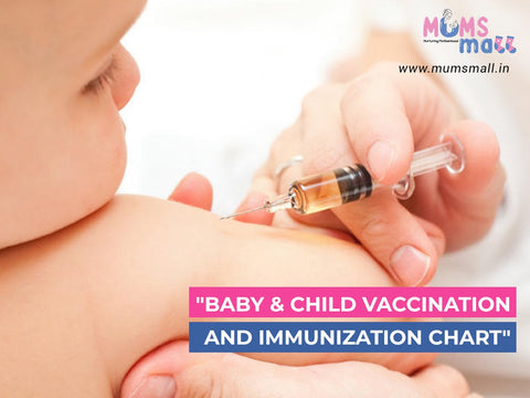 Baby and child vaccination