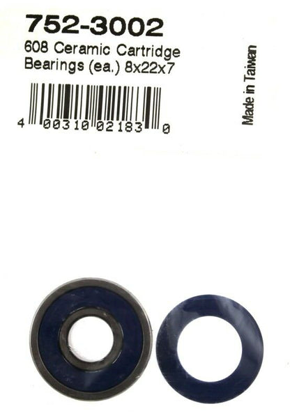 FSA 608 Bike Ceramic Cartridge Bearings 8 x 22 x 7 752-3002 4.0031E+11 NEW