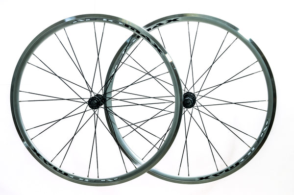 AEROMAX 700c Road Comp Silver Road Bike Wheelset Clincher Shimano/SRAM 7-11s NEW