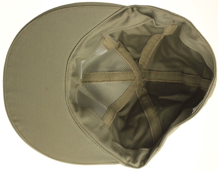 Dutch Troop Military Cap Baseball Style Medium Med M Olive Drab Cotton NEW