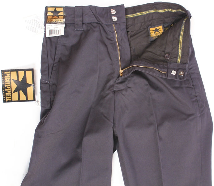Lot of 2 PROPPER Duty Pants Navy Blue Size 30 Not Hemmed 2 Pack NEW