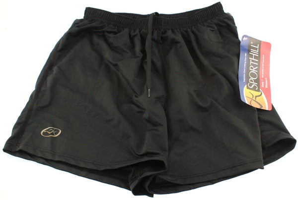 SPORTHILL SYNERGY Running Shorts Women's Small Sm S Lined Black NEW  WITH TAGS