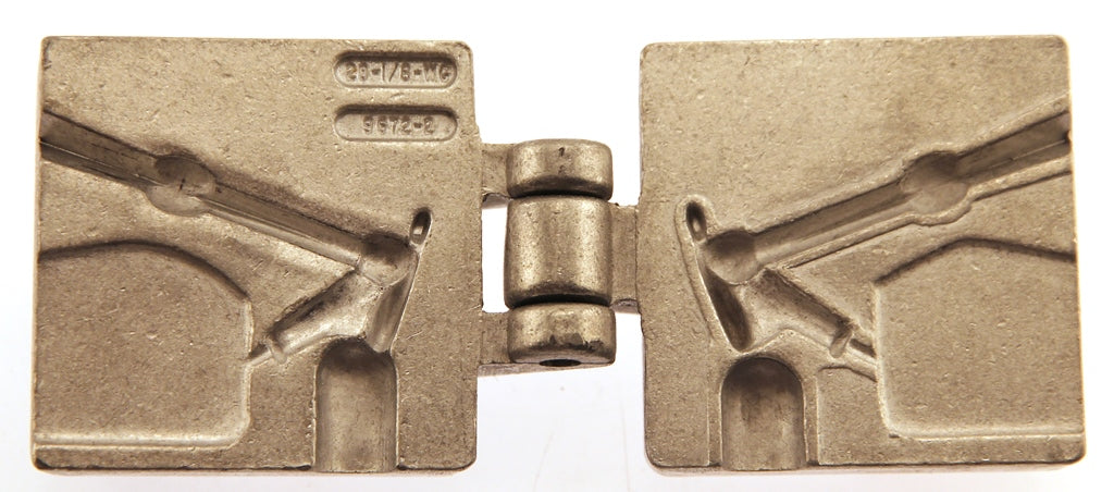 LIL MAC MIDGET Do it yourself Mold - Power Head Weed Guard Jig #28-1/8-W/WG