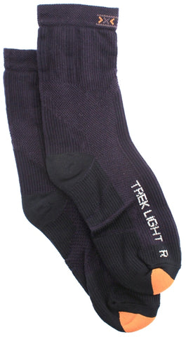 X-SOCKS TREKKING LIGHT JR MSRP $28 Short Sock KIDS 7 - 8.5 EU 24 - 26 NEW