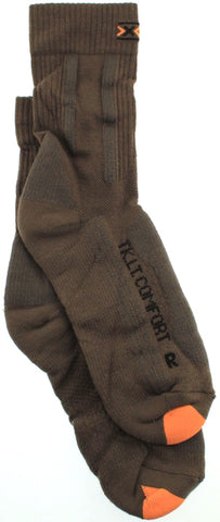 X-SOCKS TREKKING LIGHT Women's Comfort MSRP $37 7.5 - 9 EU 39 - 40 Pr Olive NEW