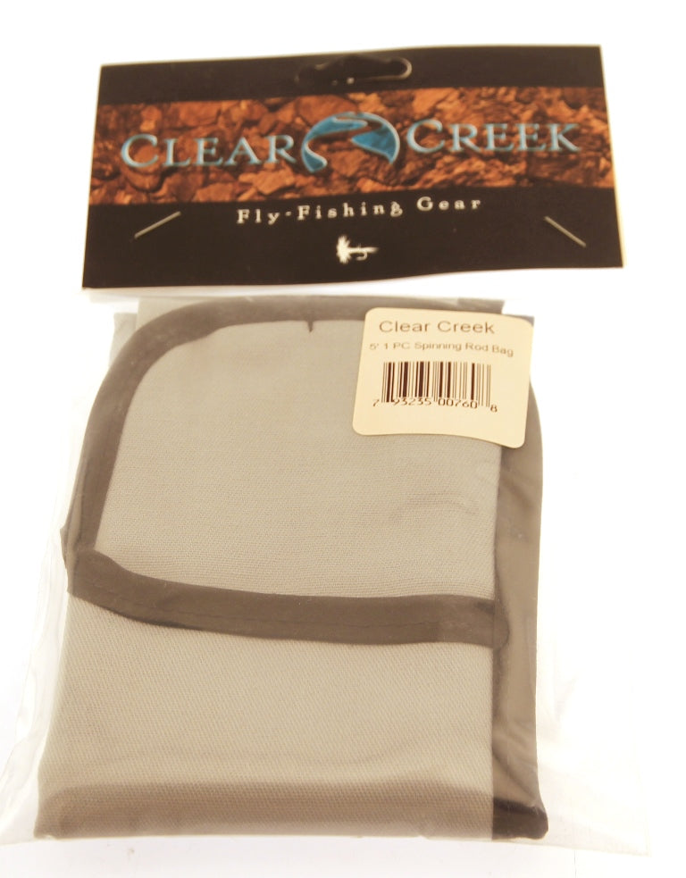 CLEAR CREEK Rod Bag Case  - 5' For 1 Piece Fly Fishing Rods New in Package