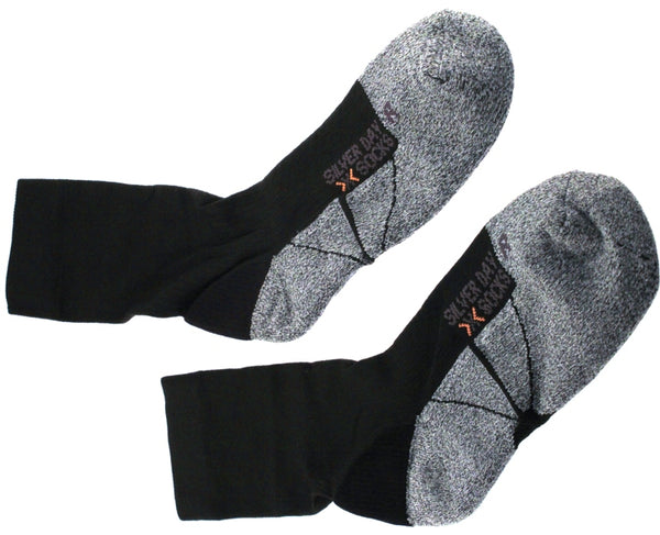 X-SOCKS SILVER DAY Men's Casual MSRP $34 US 3.5 - 6 EU 35 - 38 Black NEW SAMPLE