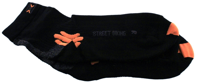 X-SOCKS INLINER Low Casual Free MSRP $23 6.5 - 8.5 EU 39 - 41 Black NEW SAMPLE