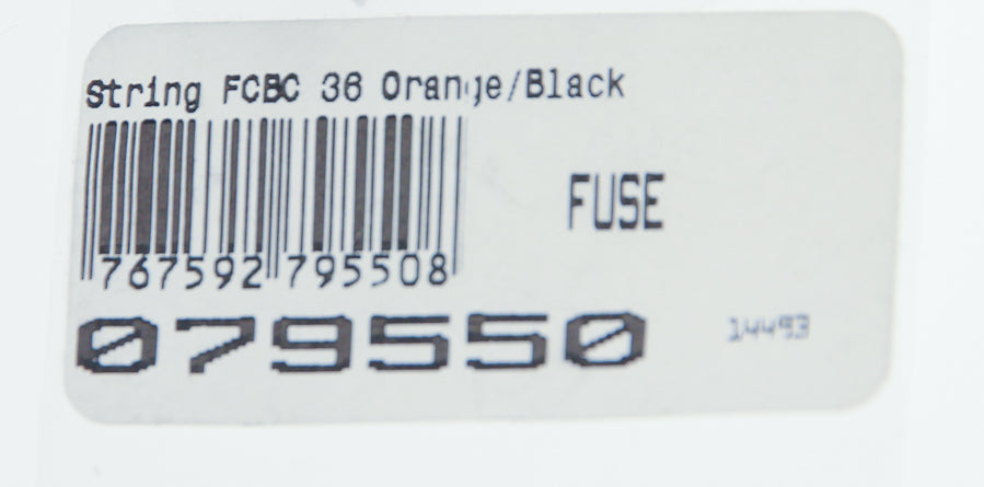 "HOYT FUSE Custom Bow String FCBC 36"" Orange/Black NEW"