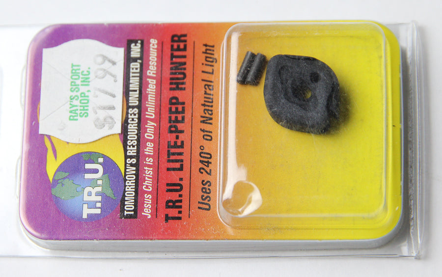 TRU BALL T.R.U. Lite Peep Hunter - Tool-Less Peep Sight  for Compound Bow Archery NEW