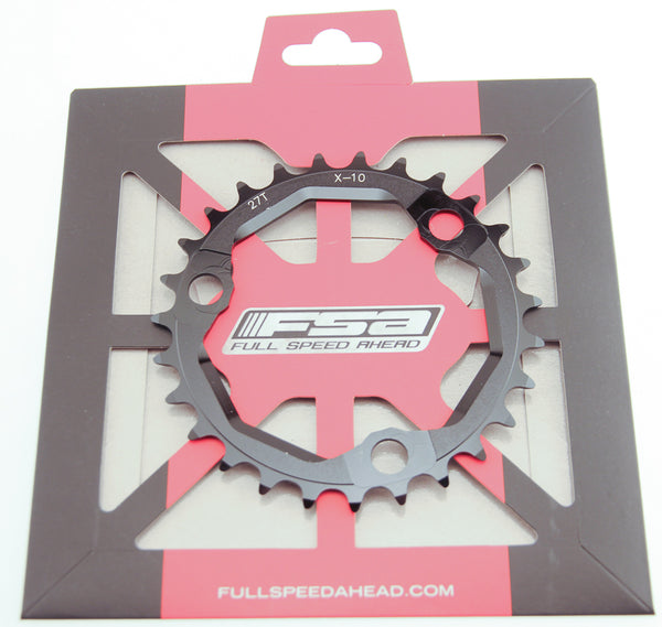 FSA 27T Pro MTB 386 Chainring X-10 Speed 86 BCD 3 Bolt Black Bike New NIB