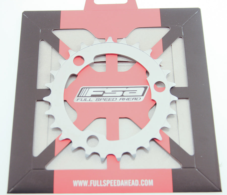 FSA 27T Steel MTB 386 Chainring X-10 Speed 86 BCD 3 Bolt Gray Bike New NIB