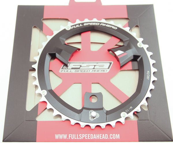 FSA 40T Super MTB 386 Chainring 10 Speed 86 BCD 3 Bolt Alloy MTB Bike NIB