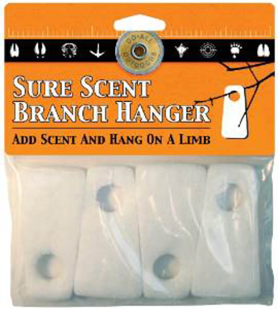 Lot of 5 Sure Scent Branch Hanger Do-All Outdoors Add Scent Hang Limb Hunting